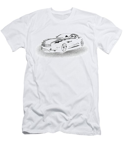Aston Martin Men's T-Shirt (Athletic Fit)
