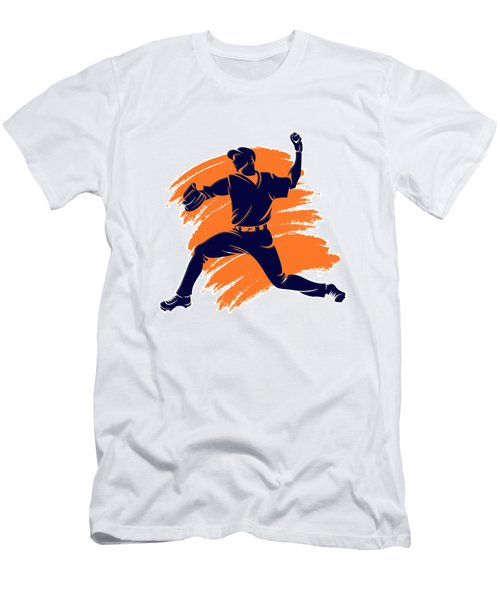 Astros Shadow Player2 Men's T-Shirt (Athletic Fit)