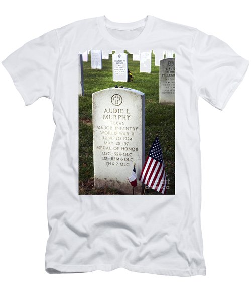 Audie Murphy - Most Decorated Men's T-Shirt (Athletic Fit)