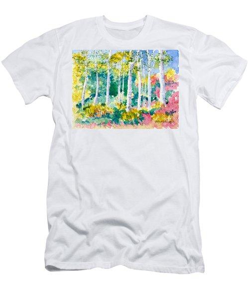 Autumn Aspen Men's T-Shirt (Athletic Fit)