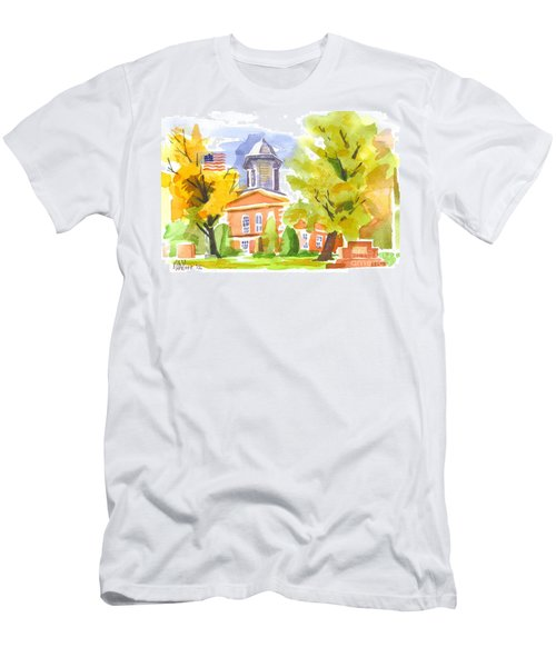 Autumn At The Courthouse Men's T-Shirt (Athletic Fit)