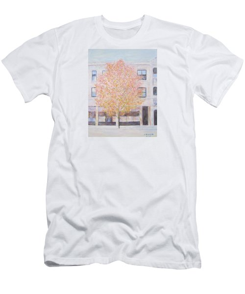 Autumn In Chicago Men's T-Shirt (Athletic Fit)