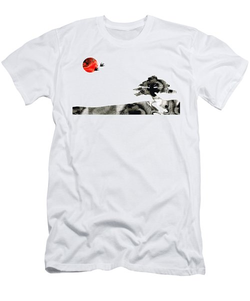 Awakening - Zen Landscape Art Men's T-Shirt (Athletic Fit)