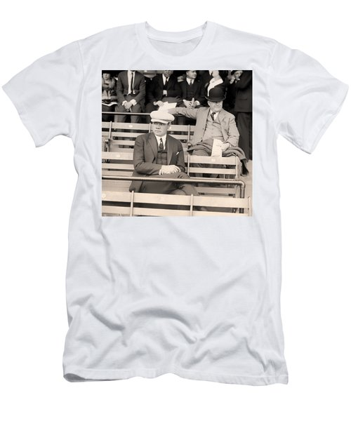 Babe Ruth In The Stands At Griffith Stadium 1922 Men's T-Shirt (Athletic Fit)