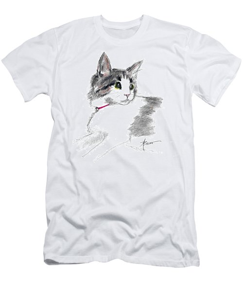 Baby Kitten Men's T-Shirt (Athletic Fit)