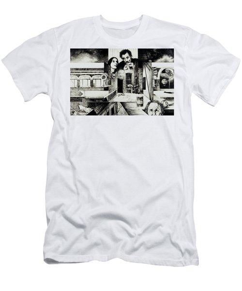 Backlane Serenade Men's T-Shirt (Athletic Fit)