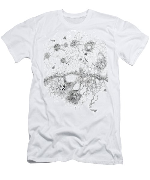 Bacteriophage Ballet Men's T-Shirt (Athletic Fit)