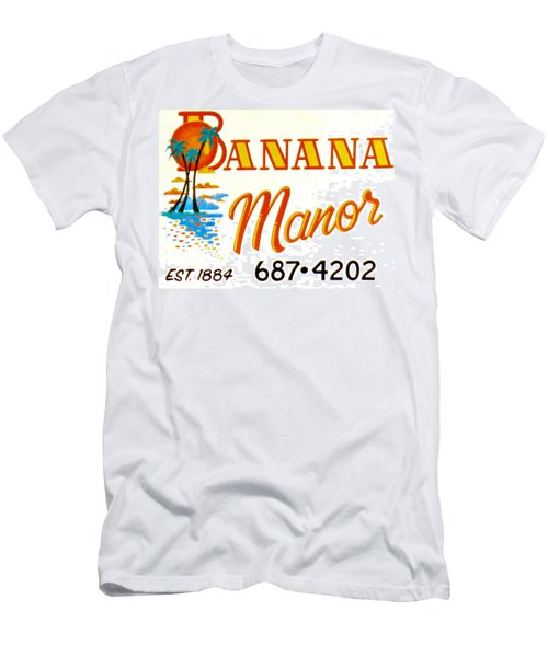 Banana Manor Men's T-Shirt (Slim Fit)