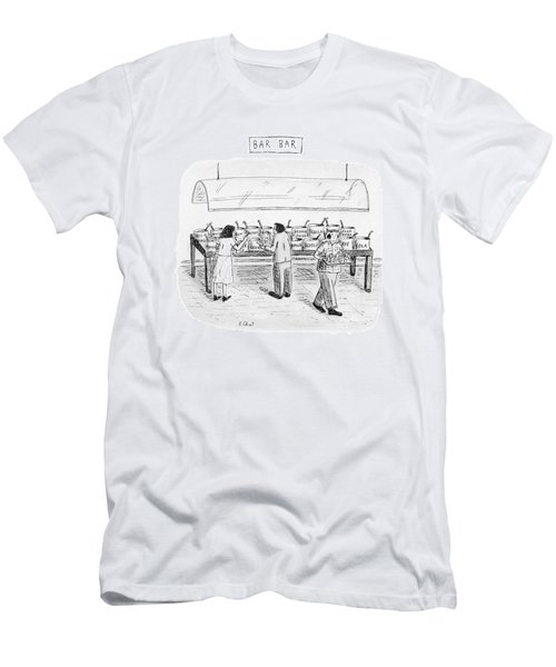 Bar Bar Men's T-Shirt (Athletic Fit)
