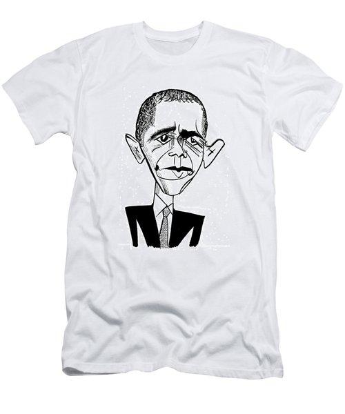 Barack Obama Suit & Tie Men's T-Shirt (Athletic Fit)