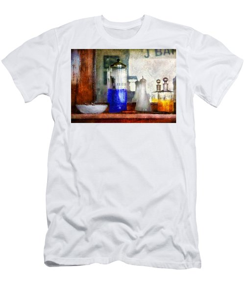 Barber - Blueberry Flavored Thanks For Asking Men's T-Shirt (Athletic Fit)