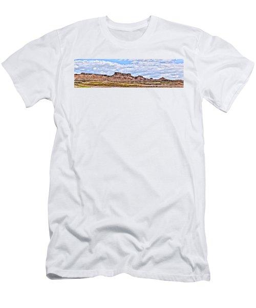 Bardenas Desert Panorama 1 Men's T-Shirt (Athletic Fit)