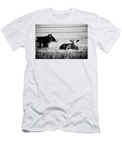 Barriers Men's T-Shirt (Athletic Fit)