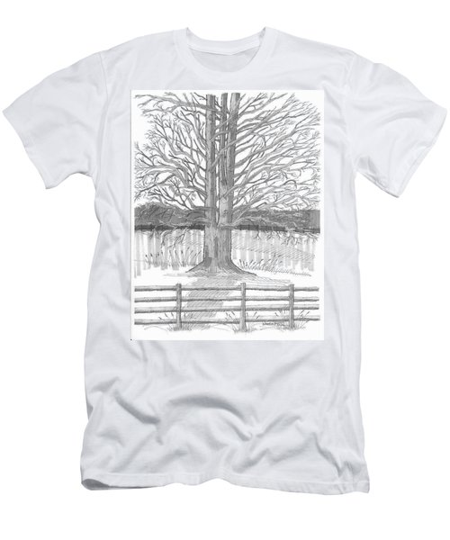 Barrytown Tree Men's T-Shirt (Athletic Fit)