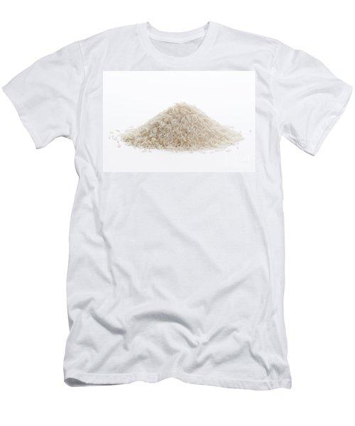 Men's T-Shirt (Slim Fit) featuring the photograph Basmati Rice by Lee Avison