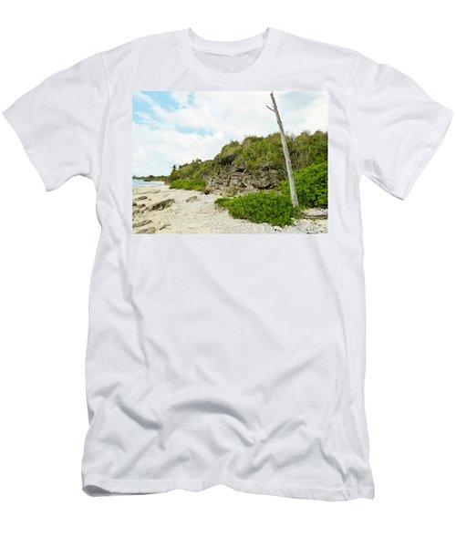 Men's T-Shirt (Slim Fit) featuring the photograph Bat Cave by Amar Sheow