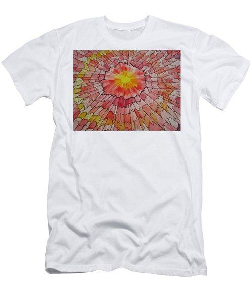 Bathed My Soul Men's T-Shirt (Athletic Fit)