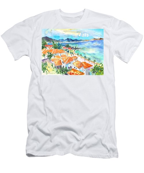 Bay Of Saint Martin Men's T-Shirt (Athletic Fit)