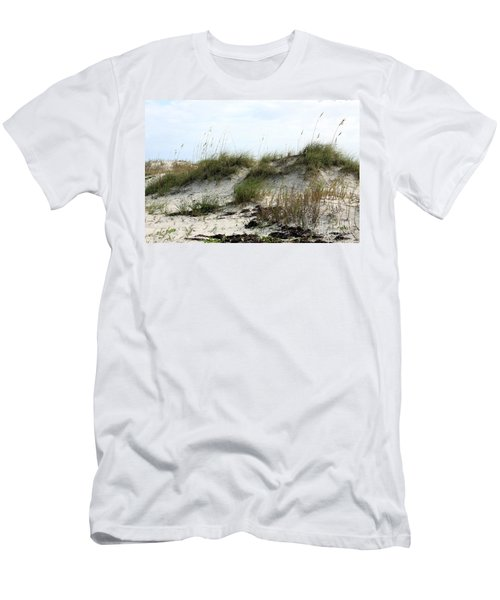 Men's T-Shirt (Slim Fit) featuring the photograph Beach Dune by Chris Thomas