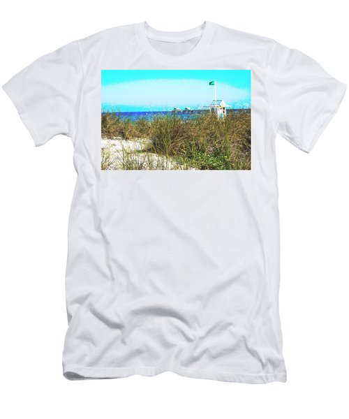 Beach Serenity Men's T-Shirt (Athletic Fit)