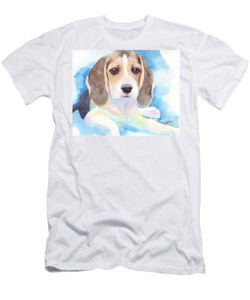 Beagle Baby Men's T-Shirt (Athletic Fit)