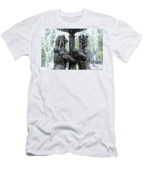 Bear Fountain Men's T-Shirt (Athletic Fit)