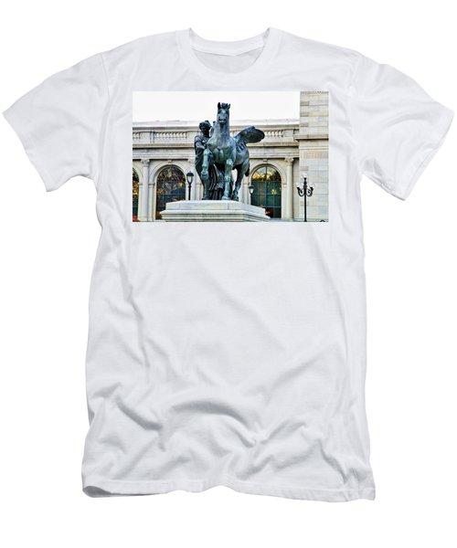 Beautiful Pegsus Men's T-Shirt (Athletic Fit)
