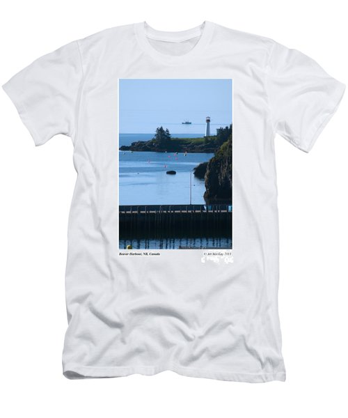 Beaver Harbour Nb Canada Men's T-Shirt (Athletic Fit)