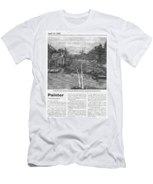 Beaver Pond - Article - Mary Krupa Men's T-Shirt (Athletic Fit)