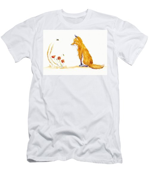 Bee A Summer Fox Men's T-Shirt (Athletic Fit)