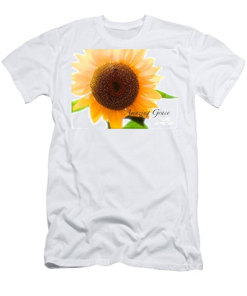 Men's T-Shirt (Slim Fit) featuring the photograph Bee Still by Margie Amberge