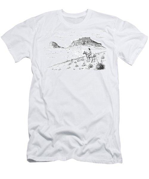 Open Prairie Overlook Men's T-Shirt (Athletic Fit)