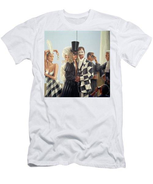 Berkley Hotel Mural - 1 Men's T-Shirt (Athletic Fit)