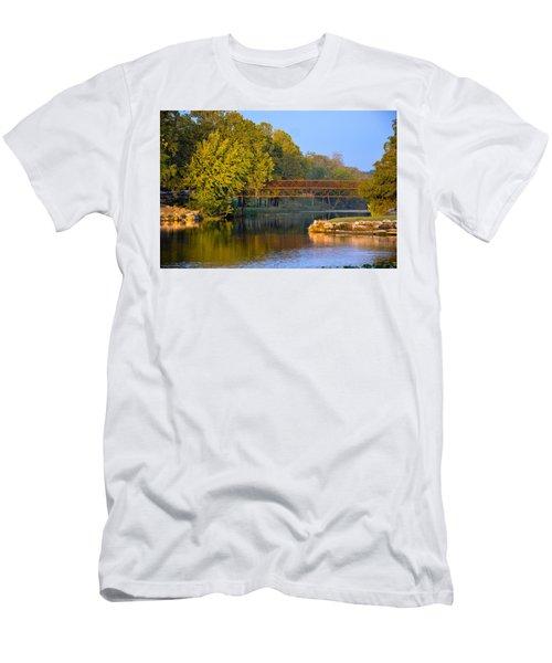 Berry Creek Bridge Men's T-Shirt (Athletic Fit)