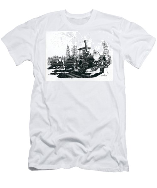 Best Steam Traction Engine Men's T-Shirt (Athletic Fit)