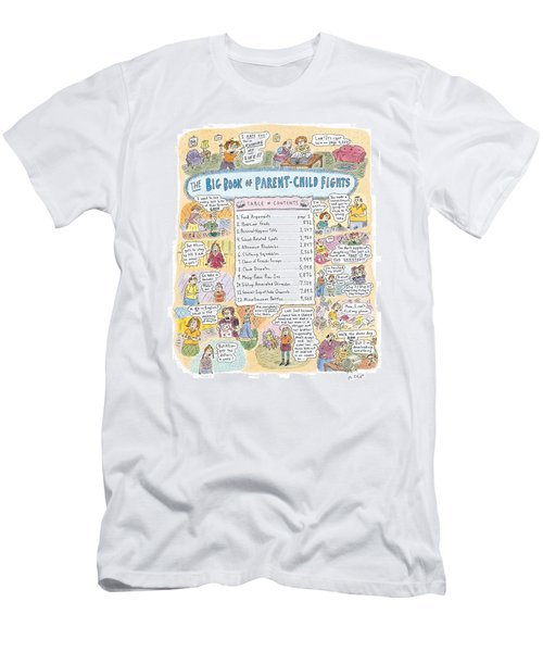 'big Book Of Parent-child Fights' Men's T-Shirt (Athletic Fit)
