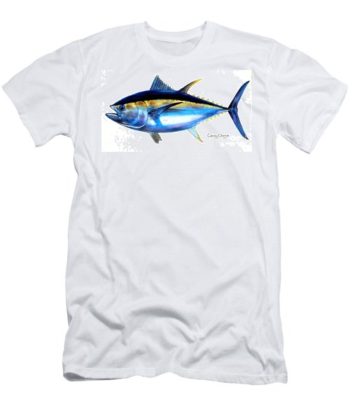 Big Eye Tuna Men's T-Shirt (Slim Fit) by Carey Chen