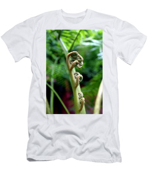 Birth Of A Fern Men's T-Shirt (Athletic Fit)