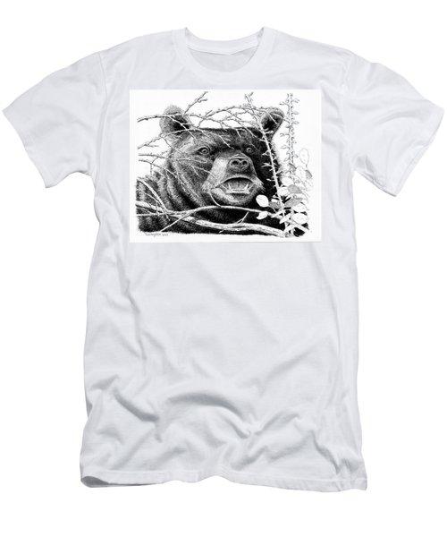 Black Bear Boar Men's T-Shirt (Athletic Fit)