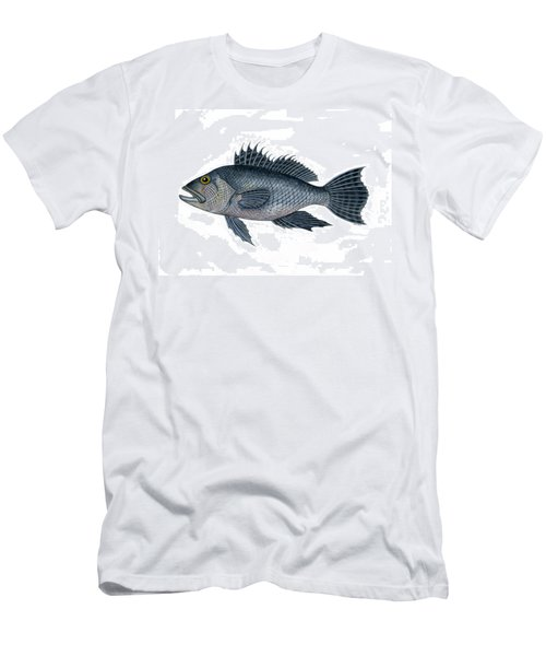 Black Sea Bass 3 Men's T-Shirt (Athletic Fit)