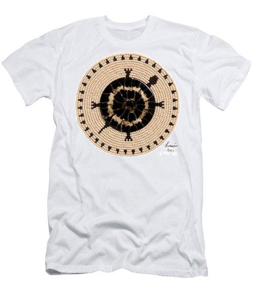 Black Shell Men's T-Shirt (Athletic Fit)
