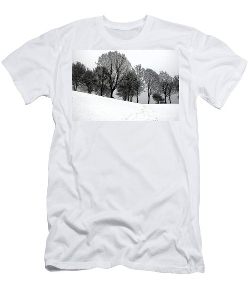 Black Trees Men's T-Shirt (Slim Fit) by Randi Grace Nilsberg