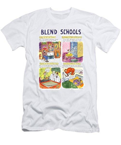 Blend Schools Men's T-Shirt (Athletic Fit)