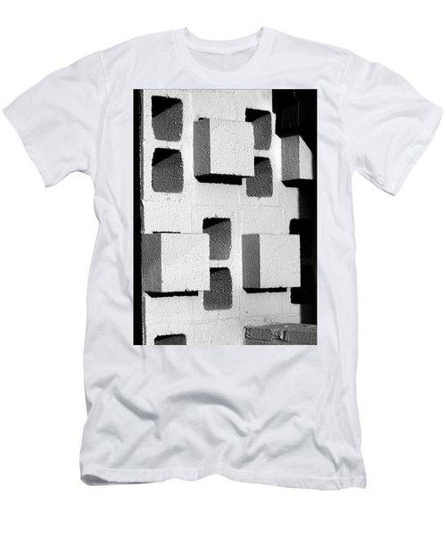 Blocks Men's T-Shirt (Athletic Fit)