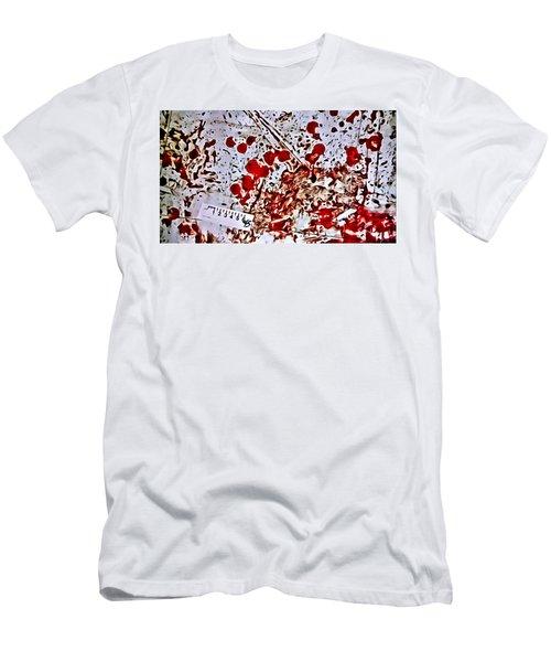 Blood Spatter Men's T-Shirt (Athletic Fit)