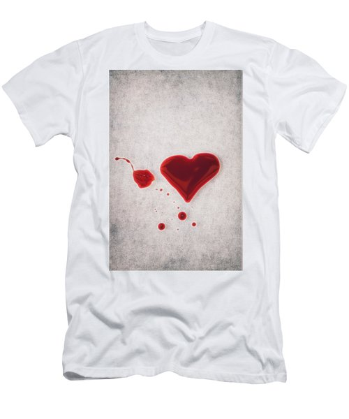 Bloody Heart Men's T-Shirt (Athletic Fit)
