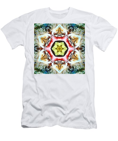 Blooming Fibonacci Men's T-Shirt (Athletic Fit)