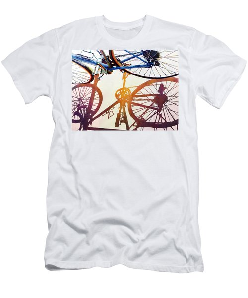 Blue Bike Men's T-Shirt (Athletic Fit)