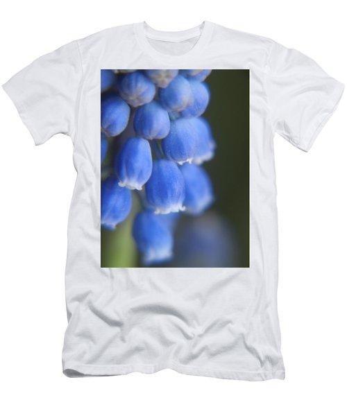 Blue Blossoms Men's T-Shirt (Athletic Fit)