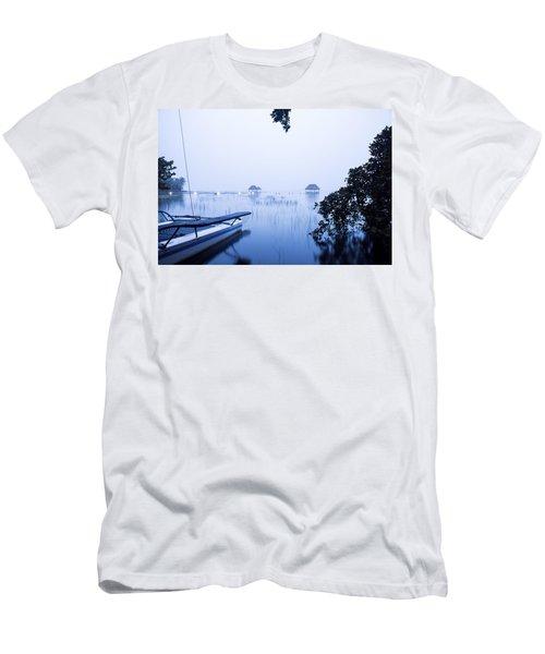 Blue Lagoon Men's T-Shirt (Athletic Fit)